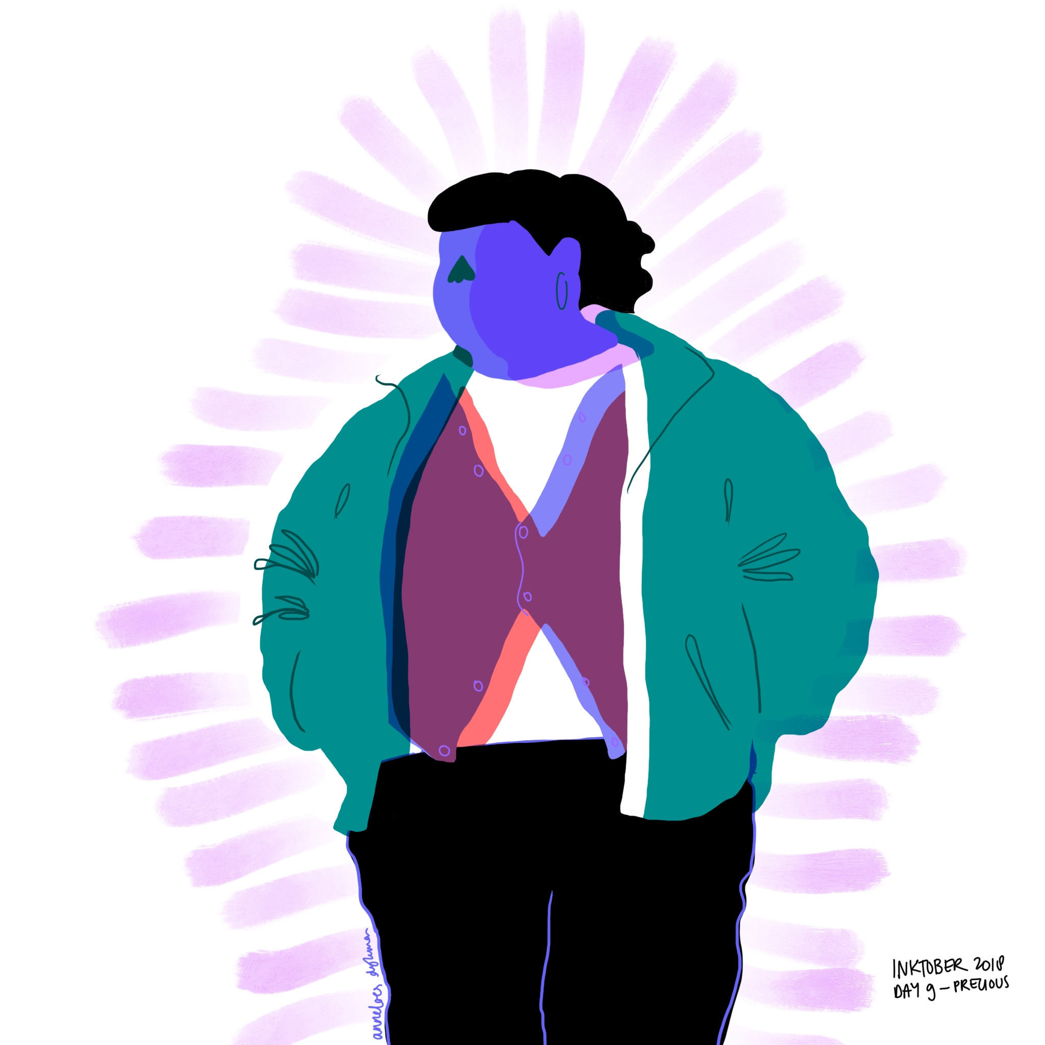 Precious illustration Gabourey Sidibe